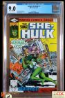 SAVAGE SHE-HULK #2 (1980 Series) - **CGC 9.0**